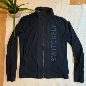 Lululemon Switchfly Black Men's Zip Up Jacket L